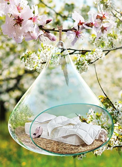 Hibboux Botanic Baby Pocket Yaylı Yatak 60x120 Cm Renkli